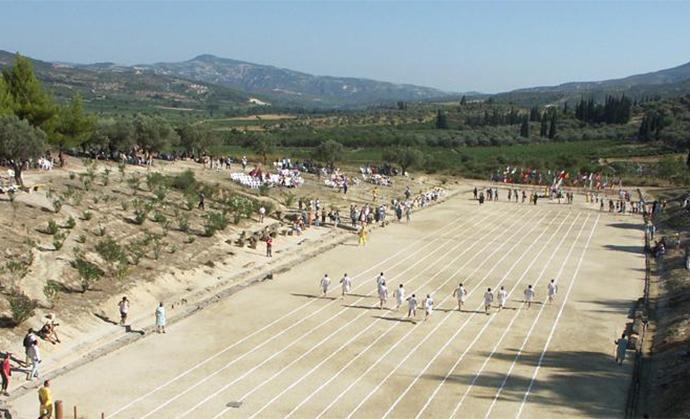 Modern Nemean Games Peloponnese Kidding Around by Hilary Bradt