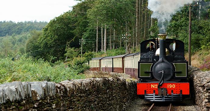 Ffestiniog Railway Wales by David Trimmer, Flickr