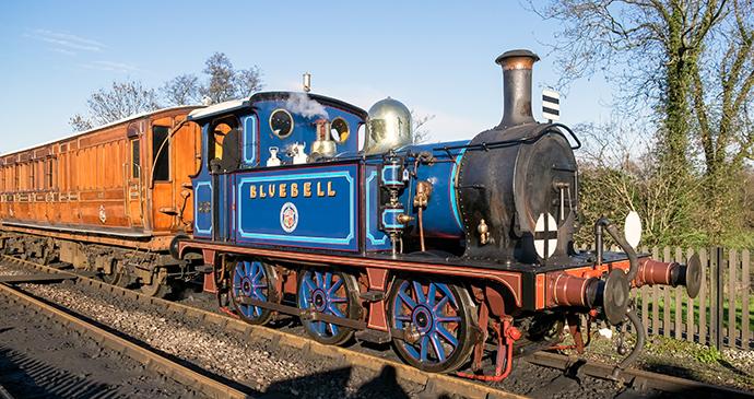 Bluebell Railway Sussex by Philip Bird LRPS CPAGB, Shutterstock