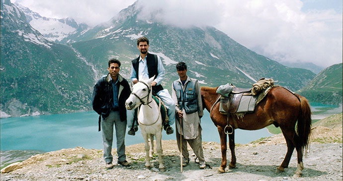 Journey to Amarnath Cave Ladakh India by Iain Campbell