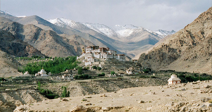 Likir Gompa Ladakh India by Iain Campbell