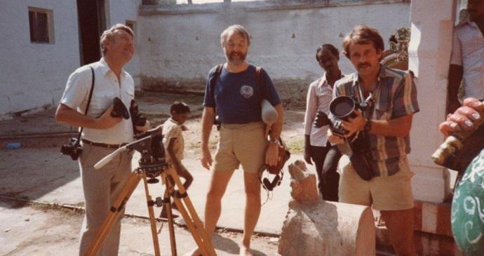 John Carter with Chris Sadler and Robin Swain, by John Carter