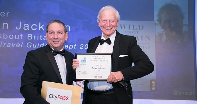 Brian Jackman won Best Narrative Travel Book award at the British Guild of Travel Writers Awards 2018 © British Guild of Travel Writers