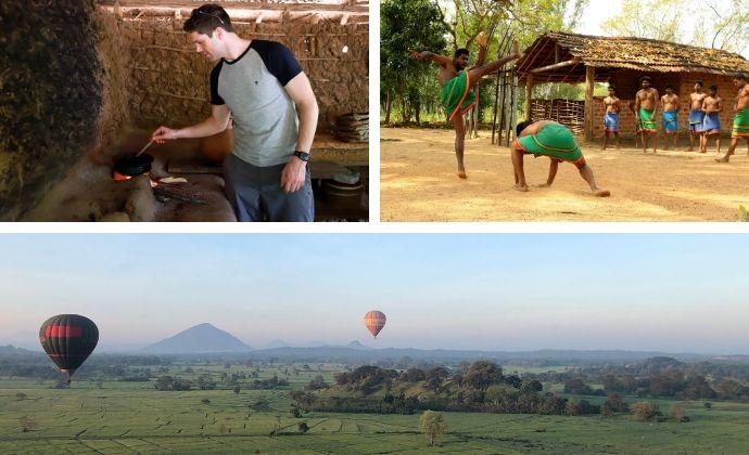 Sri Lanka photo collage
