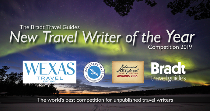 Travel Writing 2019 banner