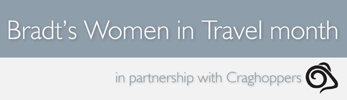 Women in travel banner