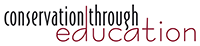 Conservation through Education logo