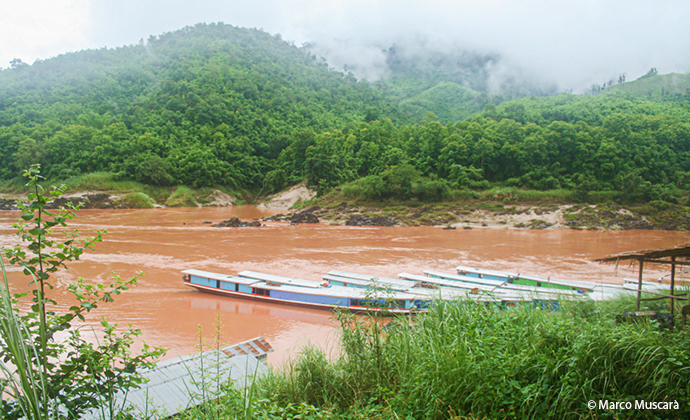 Mekong River Laos by Marco Muscarà