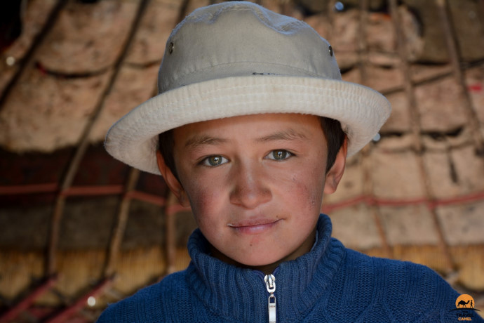 Boy at the At Chabysh Festival by photographer of the month Shane Dallas