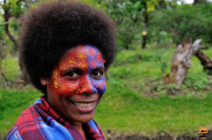 Conversations on Tanna Island by photographer of the month Shane Dallas