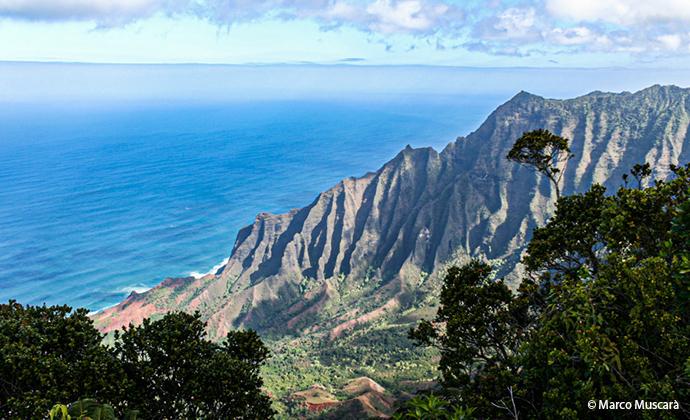 Na Pali Kaua'i Hawaii by Marco Muscarà