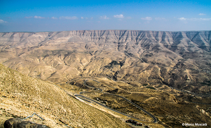 Wadi Mujib Jordan by Marco Muscarà