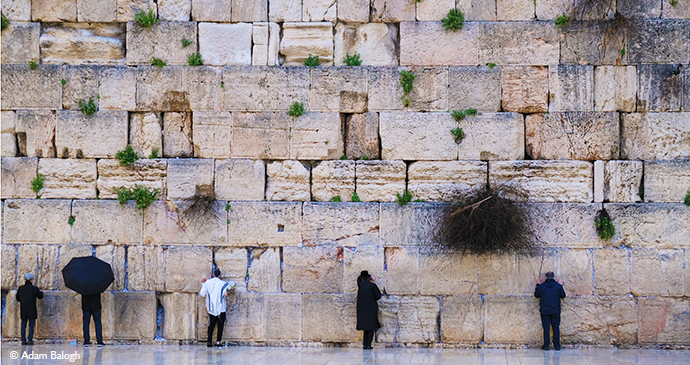 wailing wall, jerusalem © Adam Balogh