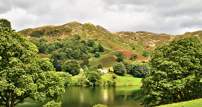 Loughrigg tarn Lake District England Uk by Kevin Eaves, Shutterstock