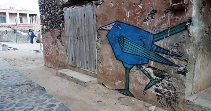 Mural, Senegal