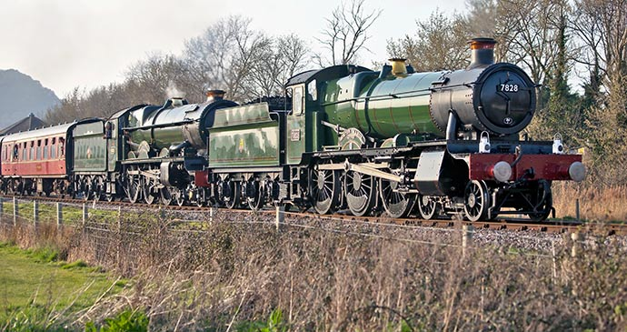 Steam train from Minehead © i4lcocl2, Shutterstock