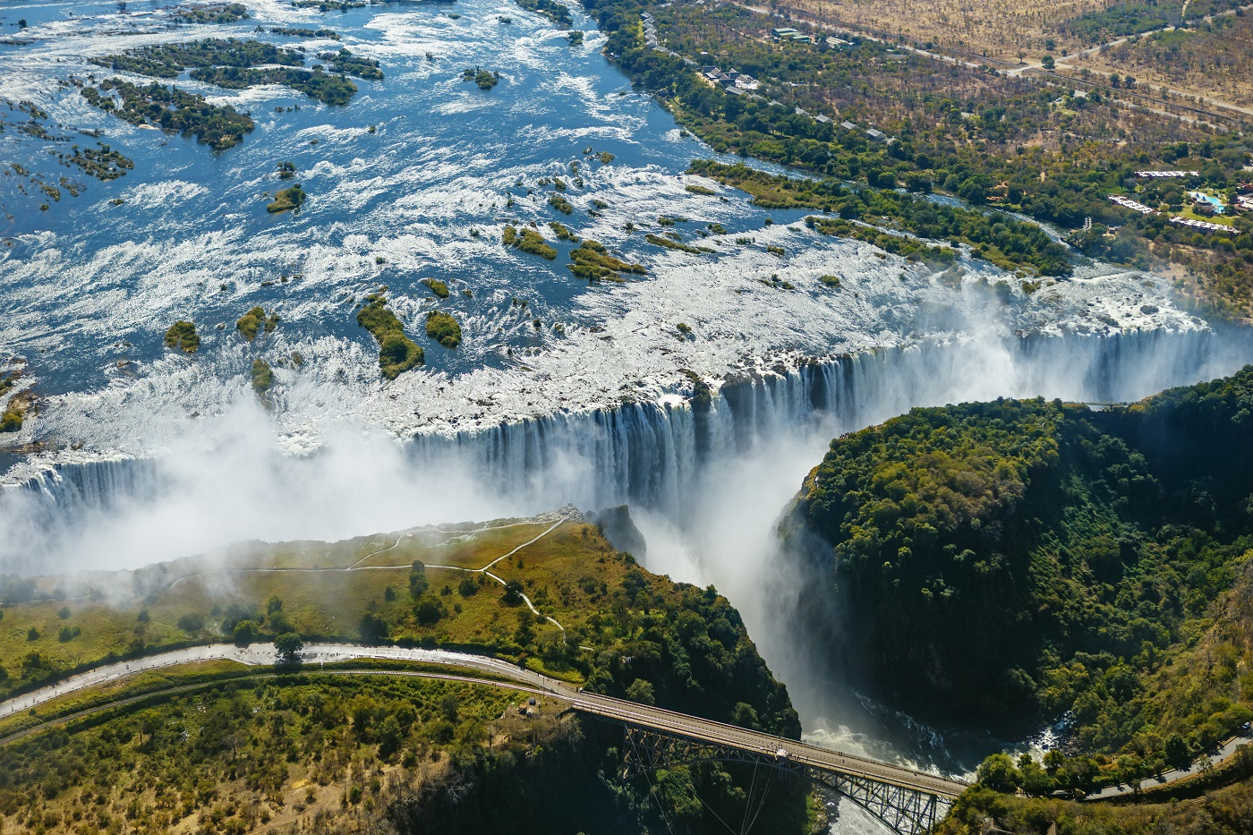 Victoria Falls Zimbabwe by © Jenman African Safaris